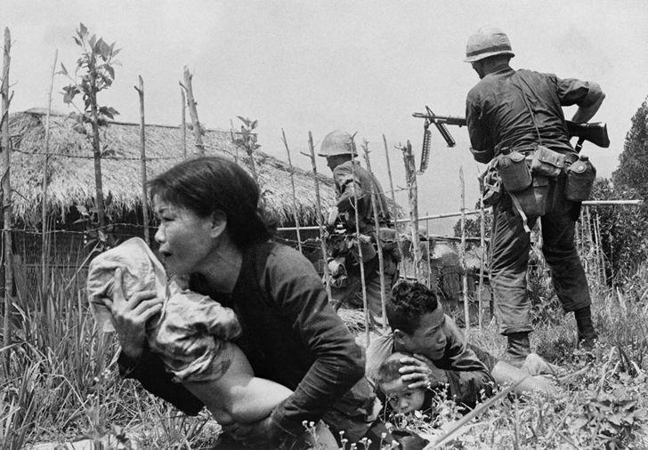 Guerra de Vietnam registro fotografico (8)