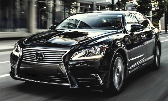 Lexus LS 460 L blindado
