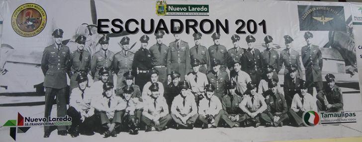 escuadron 201 foto oficial