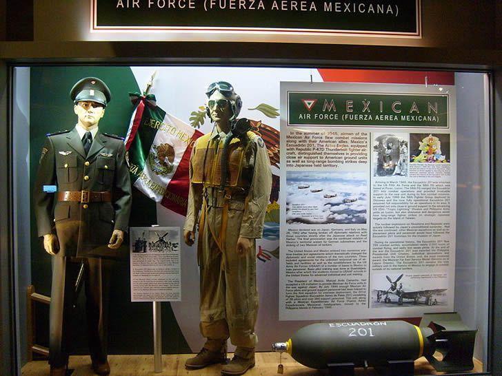 escuadron 201 museo