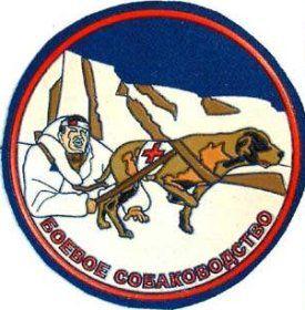 escuadron ruso parche perros rescate