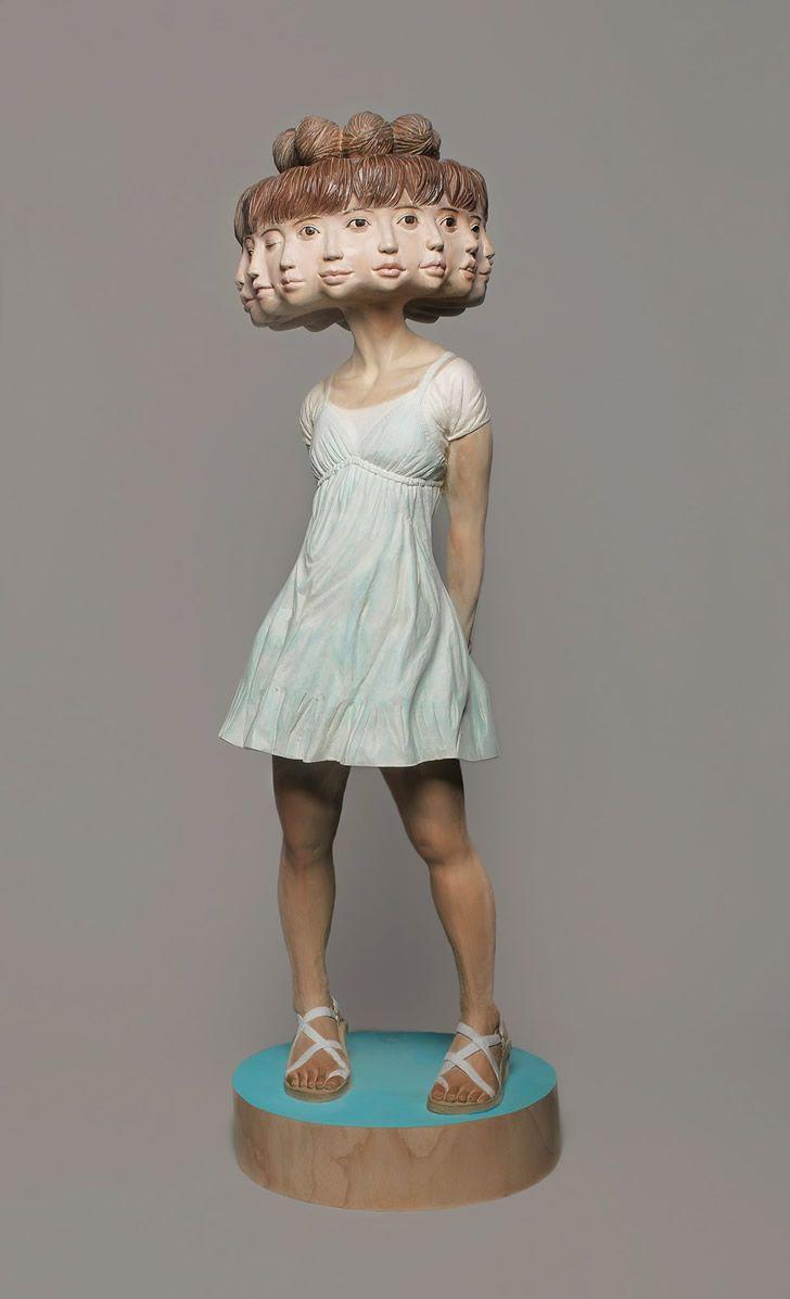 esculturas Yoshitoshi Kanemaki (1)