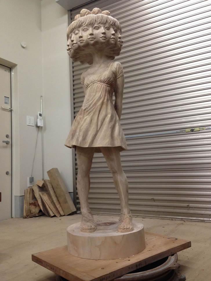 esculturas Yoshitoshi Kanemaki (16)