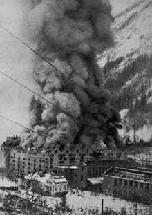 explosion Vemork