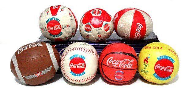 pelotas coca cola