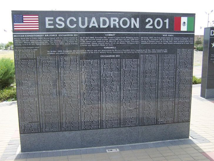 placa escuadron 201