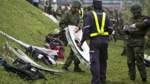 rescate avion taiwan (3)