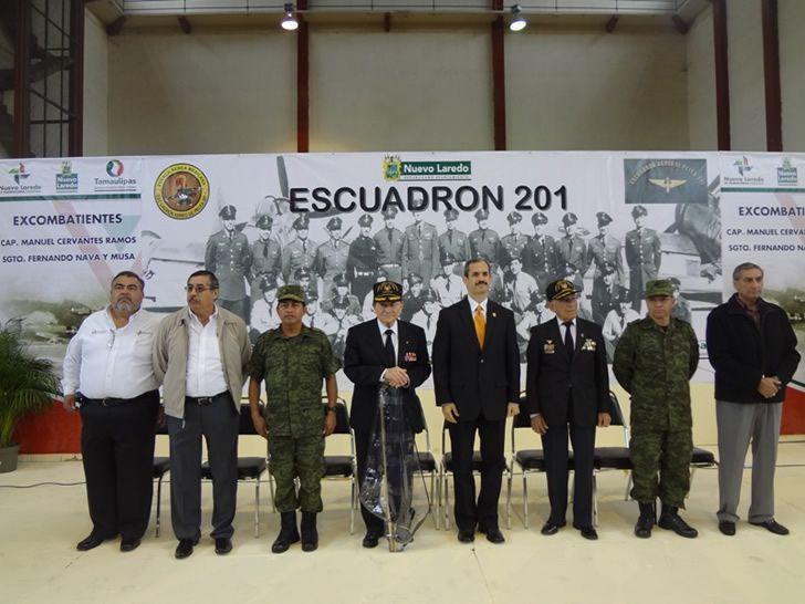 vetranos escuadron 201