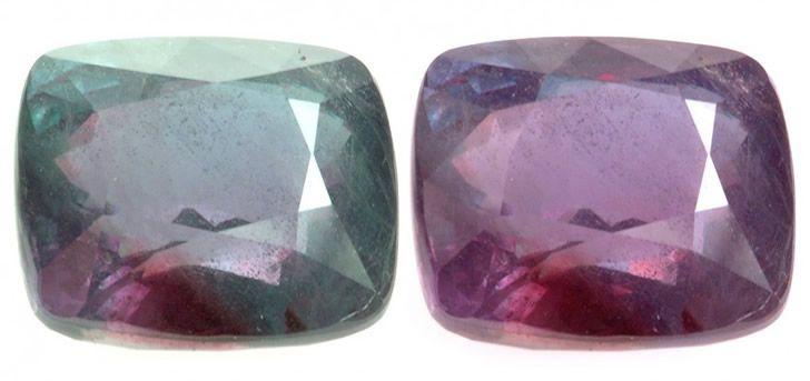 piedras preciosas que cambian de color