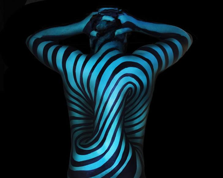 Bodypain Natalie Fletcher ilusiones opticas (1)