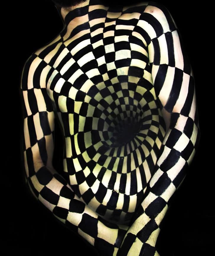 Bodypain Natalie Fletcher ilusiones opticas (2)