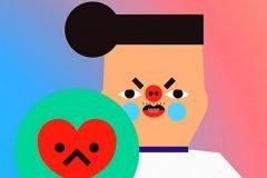 """Doggy Love"" un cortometraje animado de Wong Ping"