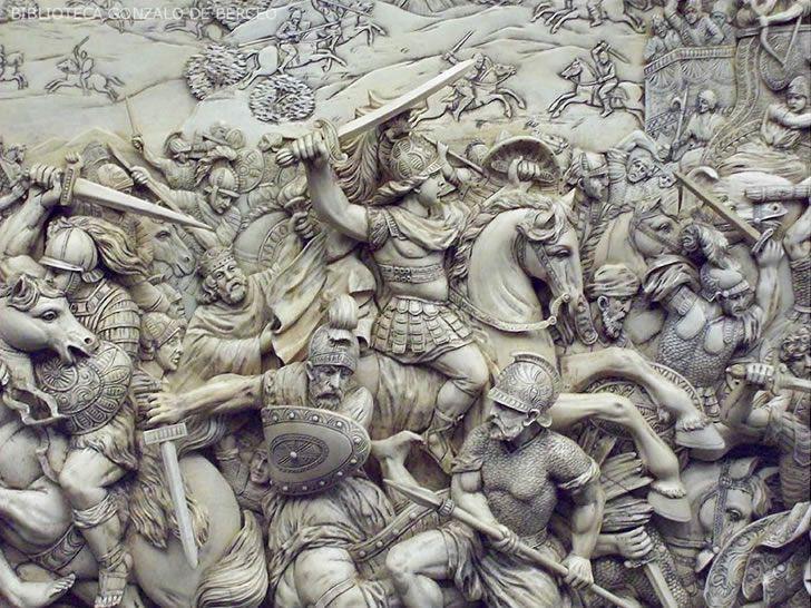 alejandro magno batalla