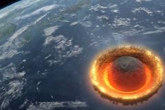 ¿Qué sucedería si un asteroide gigante impacta la Tierra?