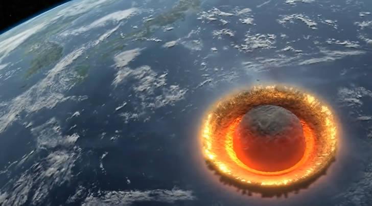 asteroide impacta tierra