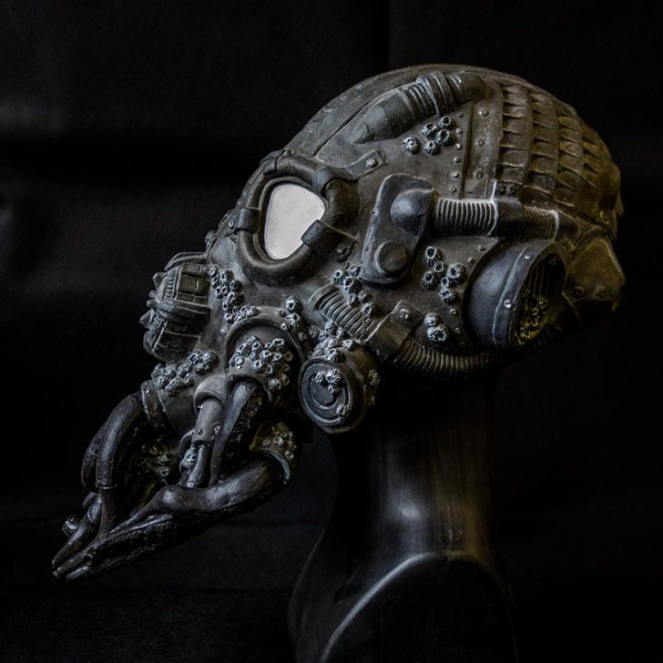 cabeza steampunk