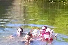 Supuesto fantasma de una niña ahogada aparece en una fotografía
