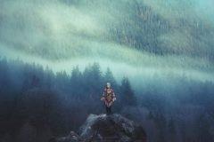 La insignificancia del hombre frente a la madre naturaleza