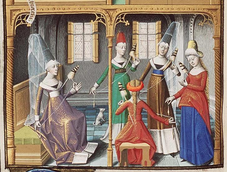 mujeres medievales