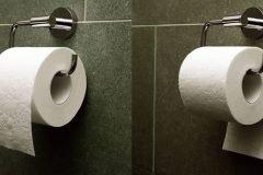 Cómo usar el papel higiénico de la forma correcta