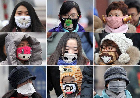 Air Pollution Skull : Hábitos japoneses que todos deberíamos adoptar marcianos