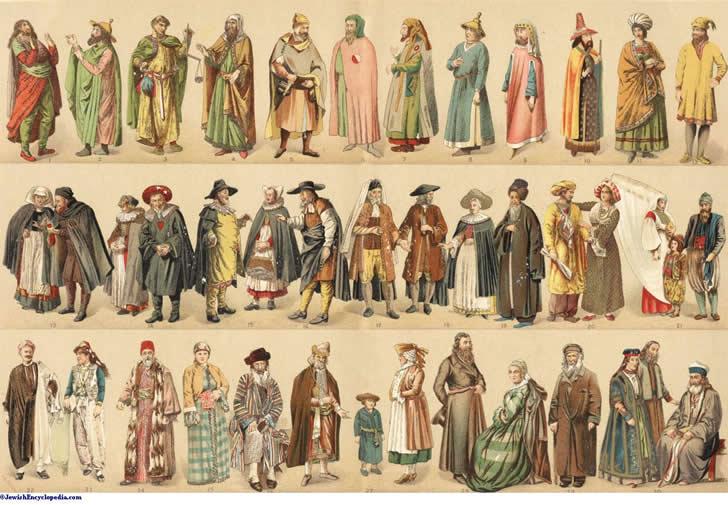 vestimentas medievales