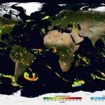 IMERG: mapa de la NASA que muestra el camino de la lluvia por el mundo + VIDEOS