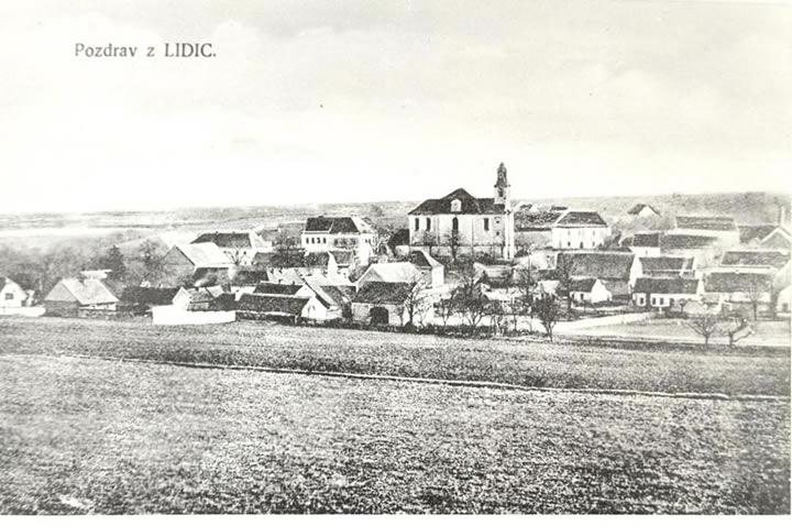 Lidice en 1942