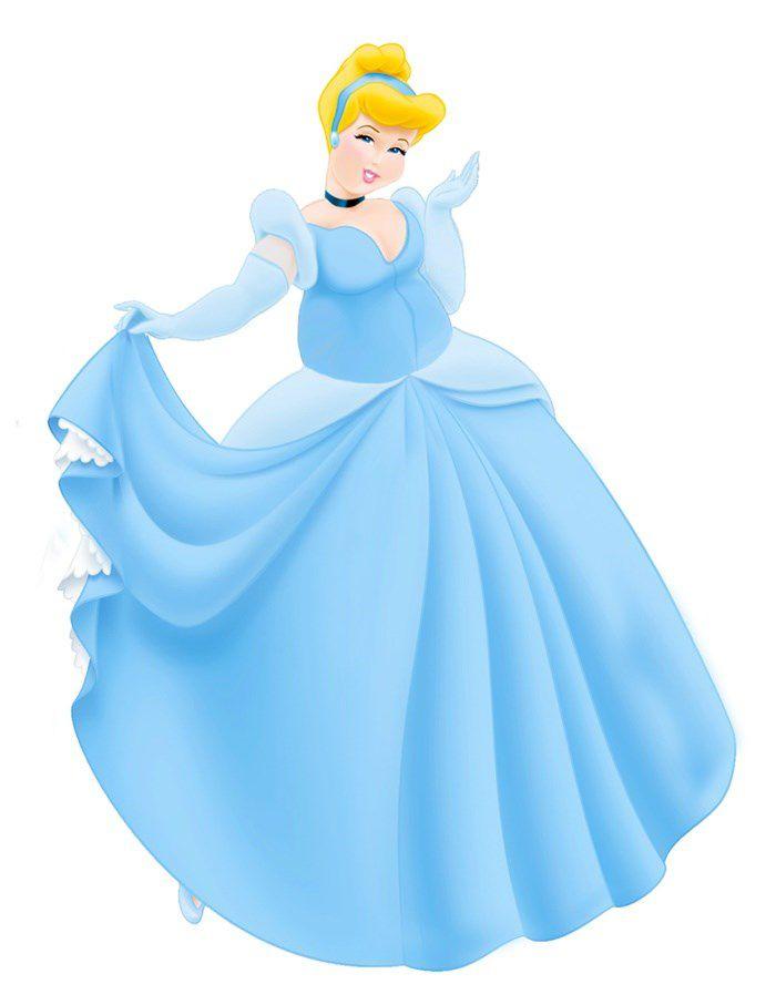 Princesas Disney Gordas (4)