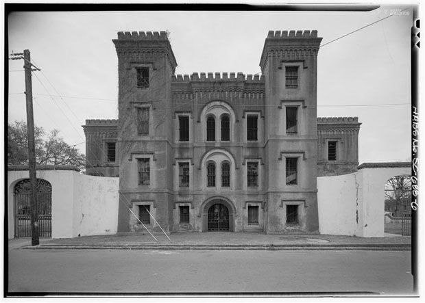 Antigua prisión de Charleston