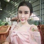 """Adolescente china es un éxito tras """"sacarle punta"""" a su rostro con cirugía plástica"""