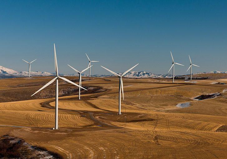 granja turbinas eolicas