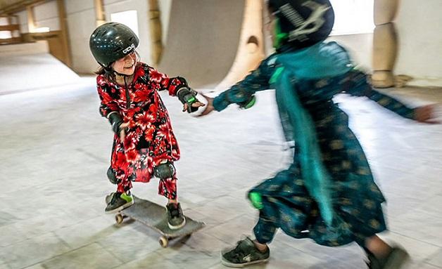 ninas skaters afganistan (1)
