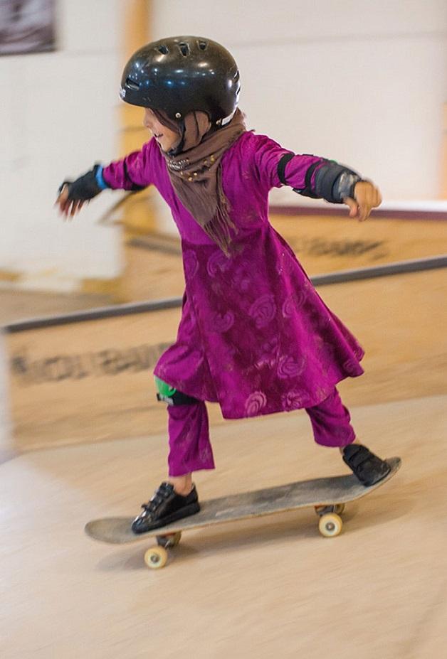 ninas skaters afganistan (3)