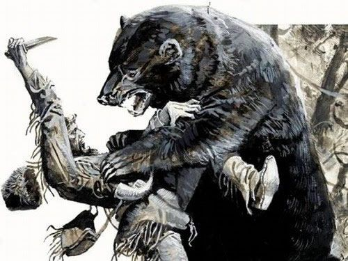 pelea oso hugh glass