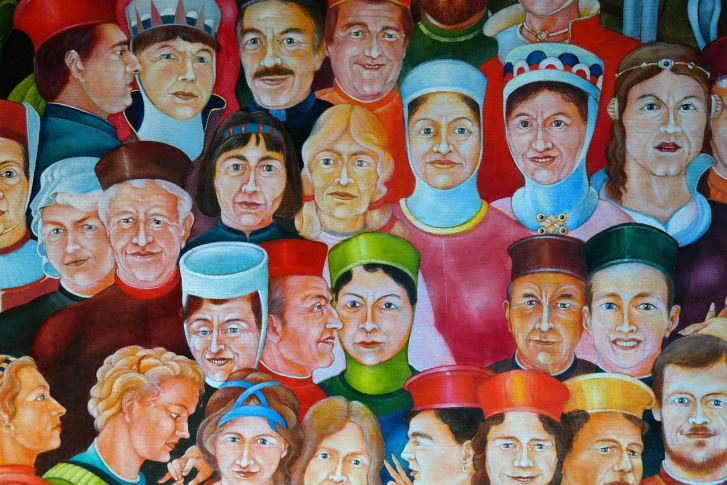 pintura diversidad