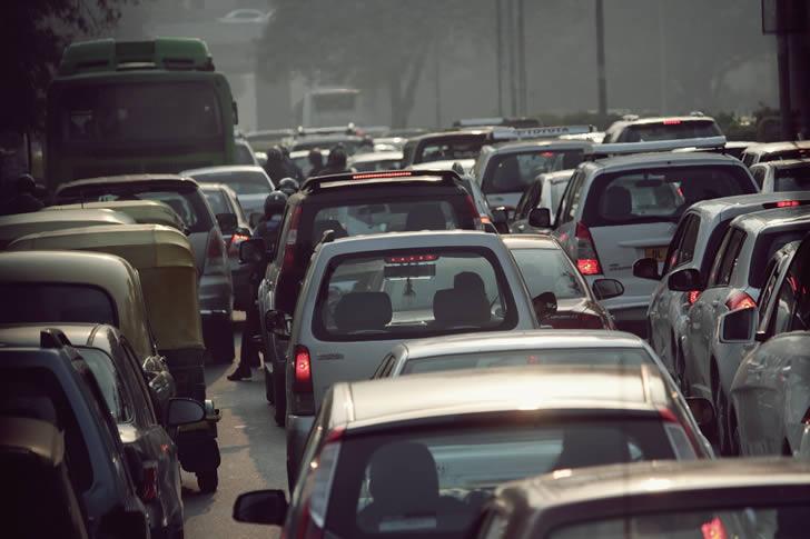 trafico vehicular