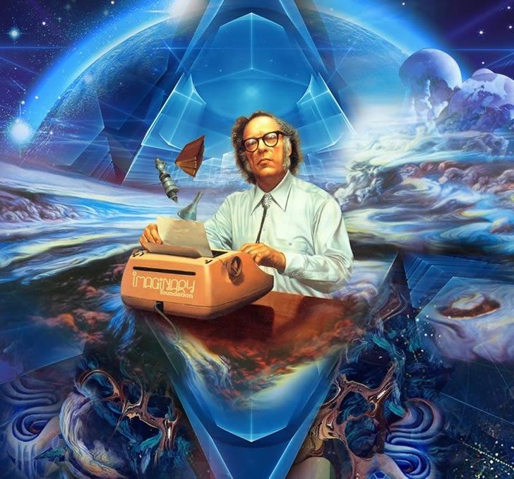 Isaac Asimov Arte