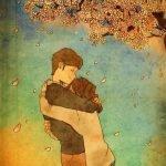 Ilustraciones: el amor de pareja está en las pequeñas cosas