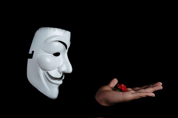 anonimo mascara