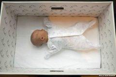 La caja para bebés en Finlandia