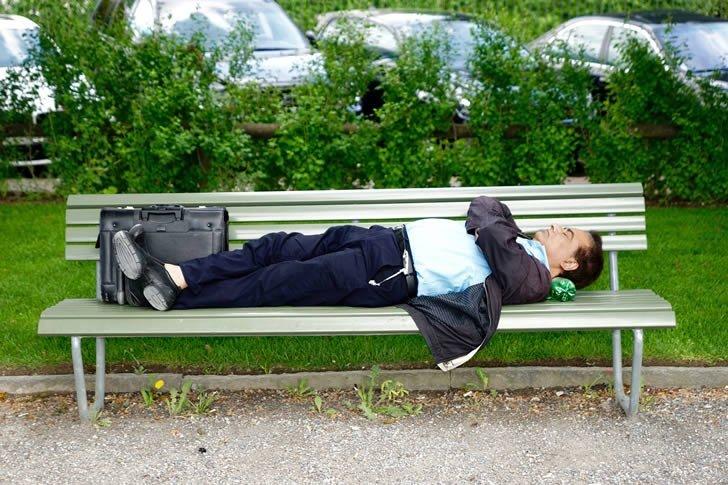 dormir parque