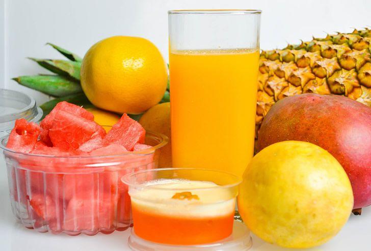 jugo frutas