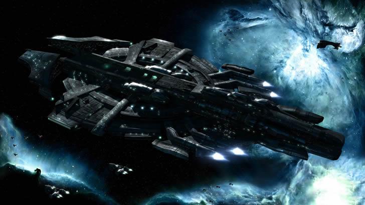 nave espacial halo