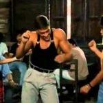 """Van Damme recrea la escena de baile de """"Kickboxer"""" + VIDEOS"""