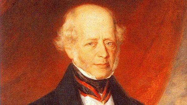 Amschel Mayer Rothschild, uno de los hijos de Mayer.