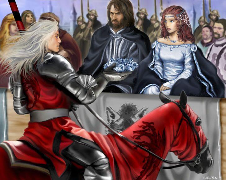 Lyanna Stark y Rhaegar Targaryen
