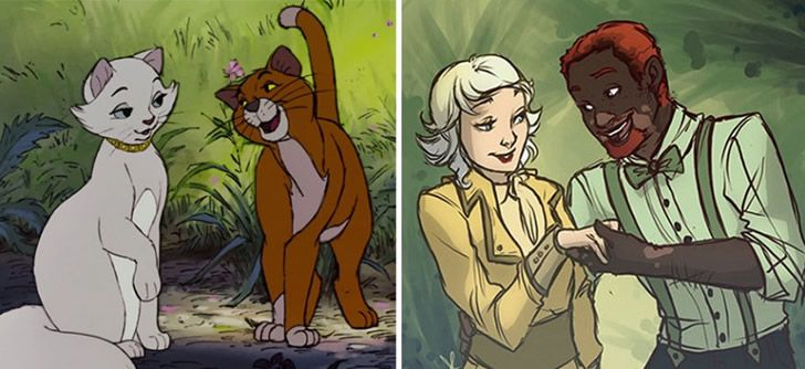 animales de disney version humanos (9)