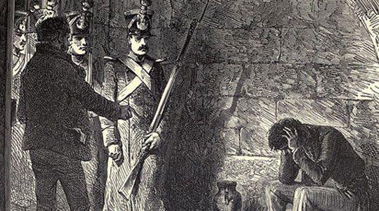 conde de montecristo preso