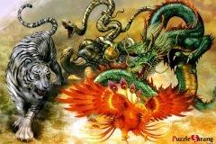 Los Cuatro Dioses Celestiales de China